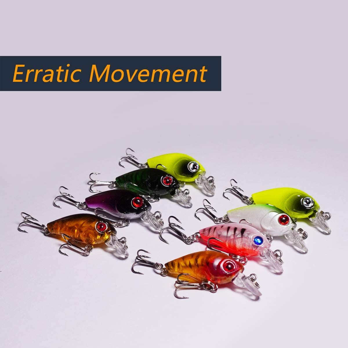 Details about  /10pcs Rubber Frog Soft Fishing Lures Bass CrankBait Sinking Fishing Hook