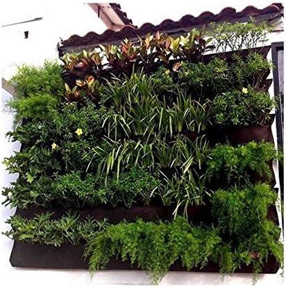 Amazon Com 12 Pockets Indoor Wall Mounted Plants Bag Hanging