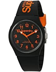 Superdry Men's Analogue Quartz Watch with Silicone Strap – SYG164B