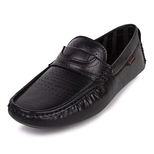7176e3bb1ed Duke Men Black Loafers  Buy Online at Low Prices in India - Amazon.in