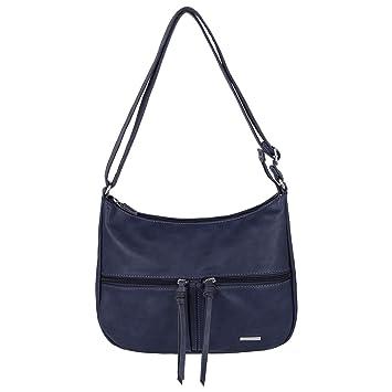 13d4f093032da David Jones - Damen Multi Pocket Umhängetasche - Schultertasche Viele  Taschen PU Leder - Messenger Crossbody