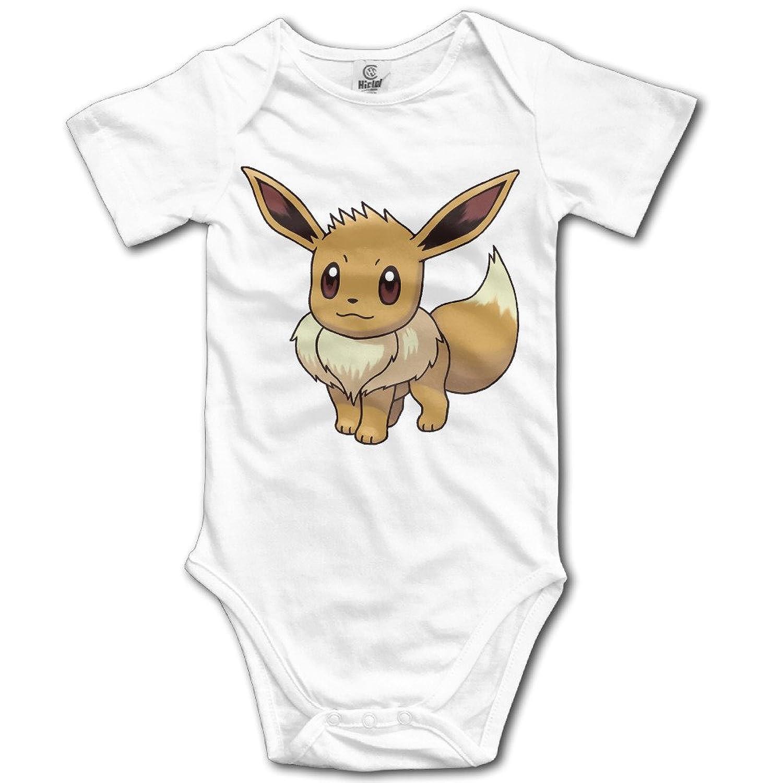 Amazon Eevee Normal Pokemon Funny Bodysuits Baby esie Clothing