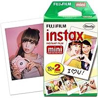 FUJIFILM 富士 INSTAX 一次成像相机 MINI相纸(胶片)白边 两小盒 10张*2