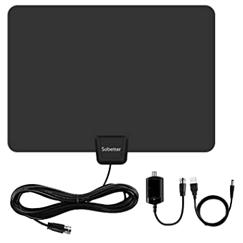 HDTV Antenna,Sobetter 50 Mile Range Digital TV Antenna with ...