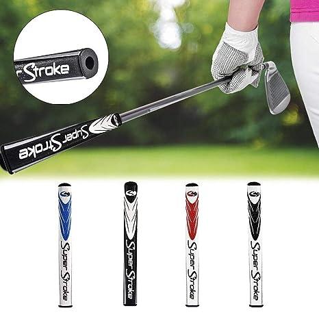 Kindlyperson Slim 2.0 & 3.0 & 5.0 Golf Putter Grip, Agarre de Golf Antideslizante Ligero de PU
