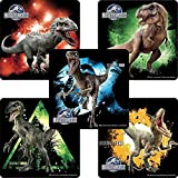 Jurassic World stickers - Birthday Party Supplies & Favors - 75 per Pack by SmileMakers
