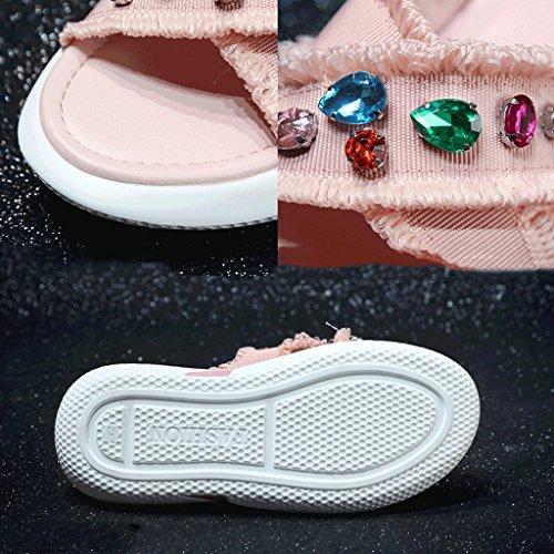 D'usure Sport Été De Sandales Pantoufles Mode 6 Femme 0 De Chaussures taille wxqaxXgf