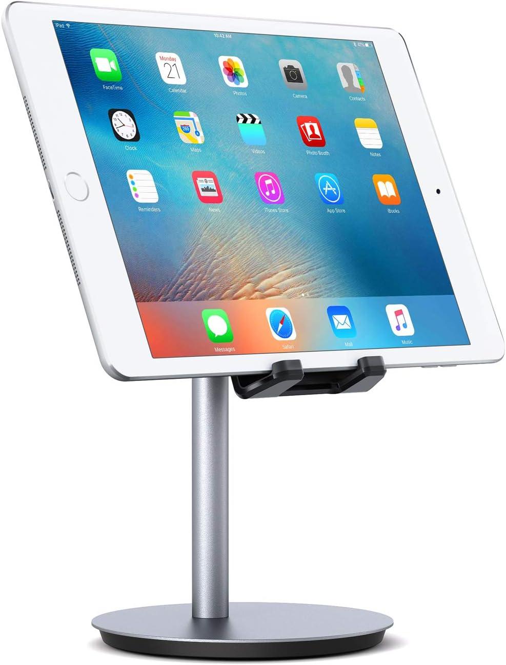AUKEY Soporte Tablet Aluminio Ajustable Soporte Móvil para Samsung ...
