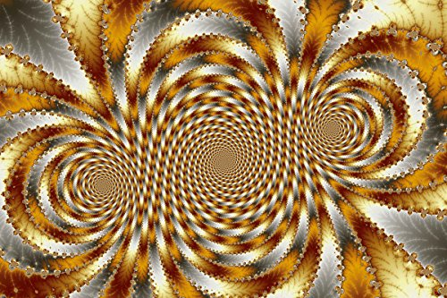 Backlund Swirl Fractal I Wall Decal 48