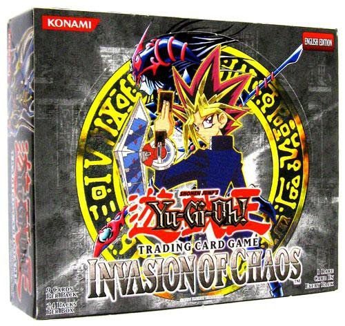 (Yu-Gi-Oh Invasion Of Chaos Booster Box 24ct Unlimited Edition)