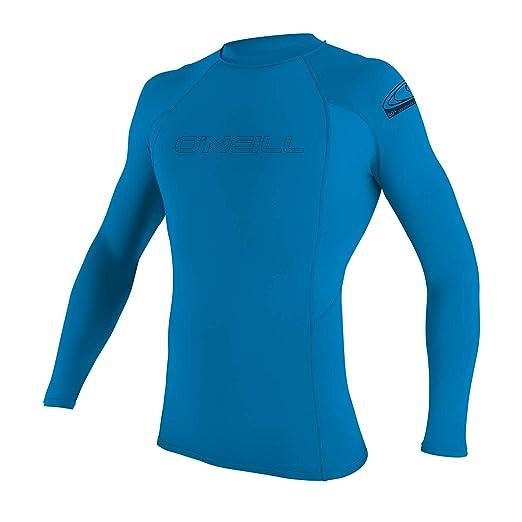 f19ba383 Amazon.com: O'Neill Youth Basic Skins UPF 50+ Long Sleeve Rash Guard ...
