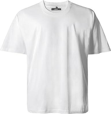 Lucky Star Camiseta Cuello Redondo Blanca by Oversize, 2xl-8xl:2XL: Amazon.es: Ropa y accesorios