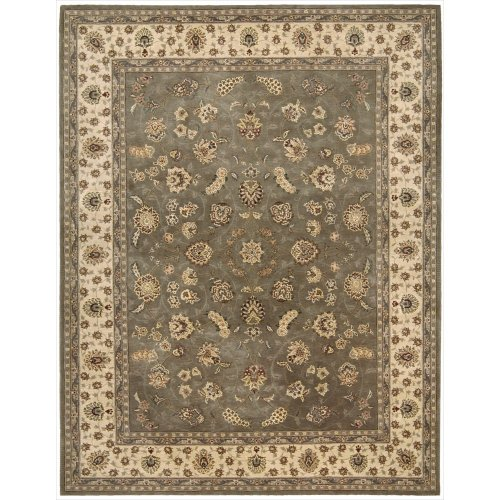 Nourison Nourison 2000 (2003) Olive Rectangle Area Rug, 7-Feet 9-Inches by 9-Feet 9-Inches (7'9