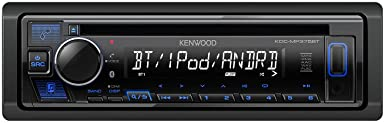 Kenwood KDC-MP375BT car cd Receiver Bluetooth USB MP3 Spotify Pandora Iheartradio with Free Kenwood USB Drive