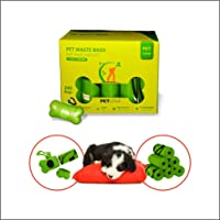 Pet Love Dog Poop Bag with Dispenser, Biodegradable Cat Dog Waste Bags Scented, 16 Rolls 240 Bags, Leak Proof and Extra…