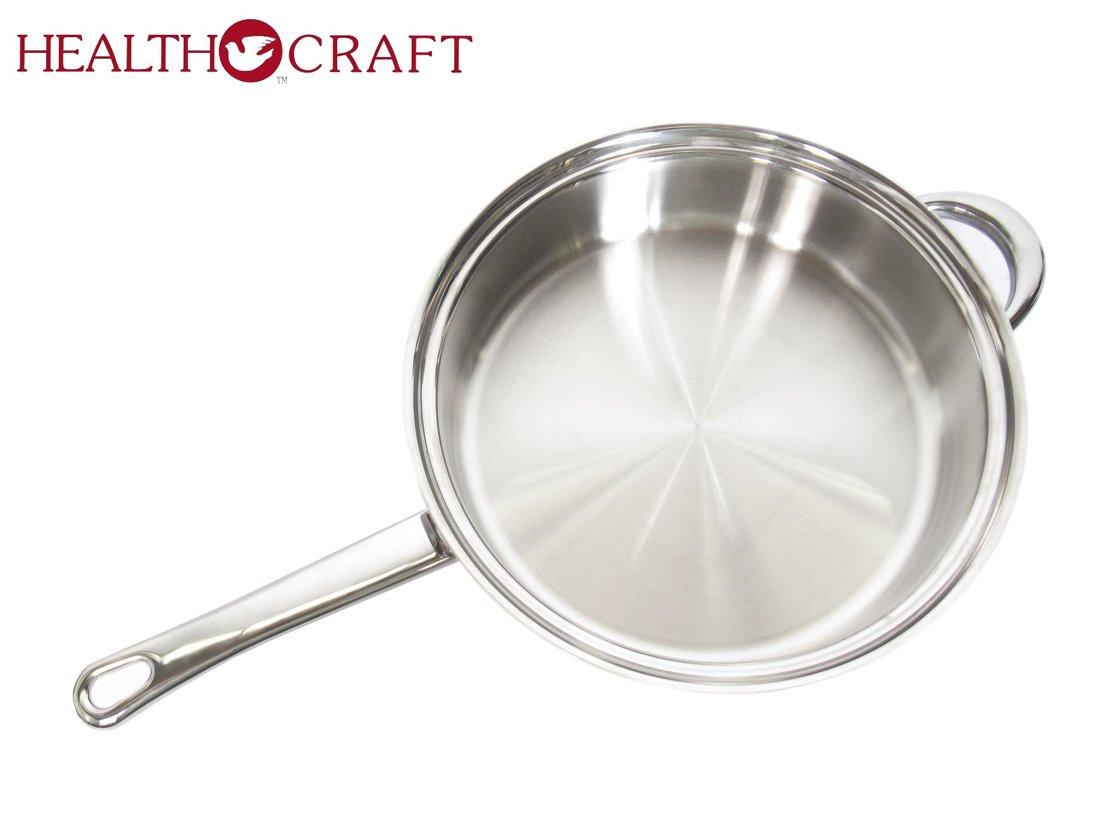 Health Craft Stainless Steel 11.25'' Sauté Skillet