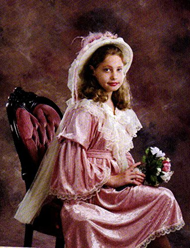 Victorian Mauve Velvet Girls (Victorian Costumes Girls)