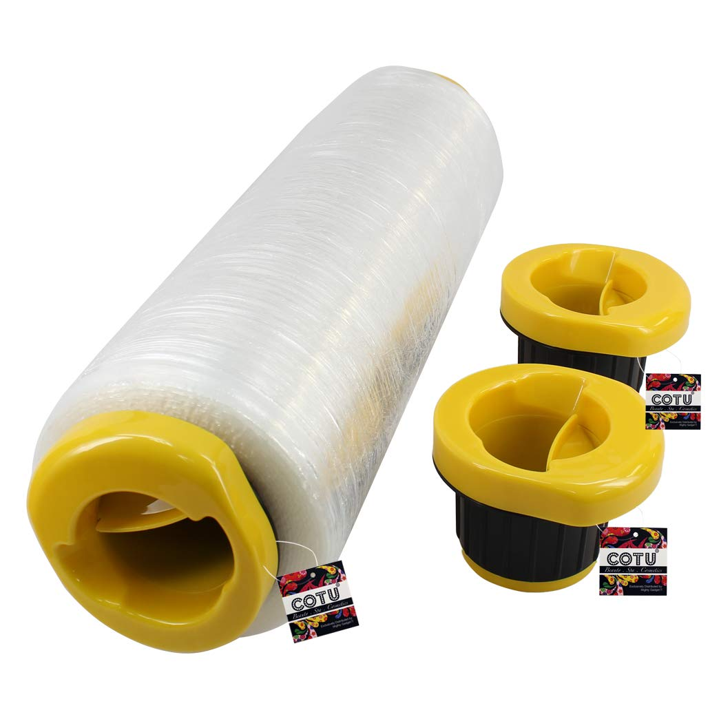 1 Pair of COTU (R) Hand Wrapping Stretch Wrap Dispensers - Fits Any 3 inch Stretch Film Core by COTU