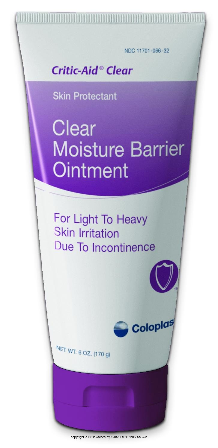 Critic-Aid Clear Moisture Barrier Ointment, Criticaid Clear, (1 CASE, 12 EACH) by COLOPLAST CORPORATION