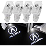 for Acura, 4 Pack Car Door Light Projector Compatible with Acura MDX/Acura TLX/Acura TL/Acura ZDX/Acura RLX , Puddle…