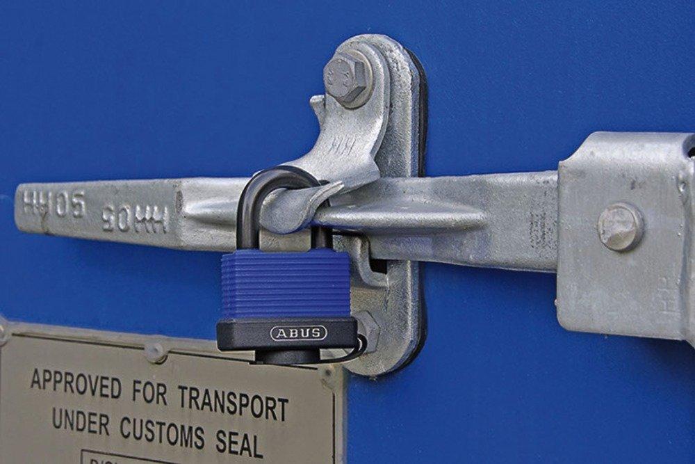afinados 6401 azul acero inoxidable Candado para uso al aire libre Abus 70IB 24988