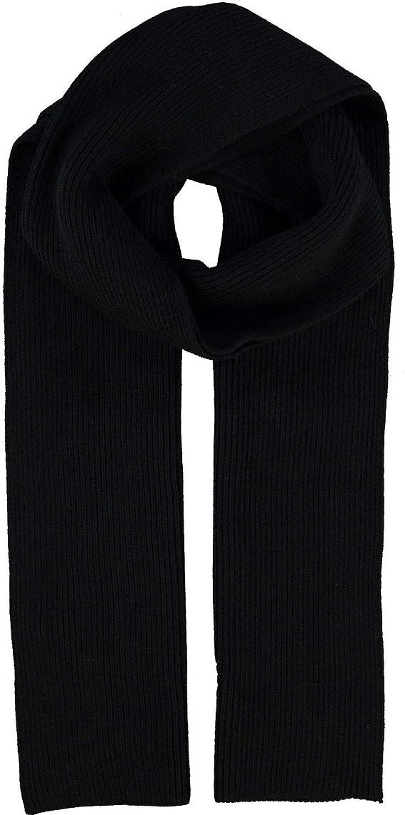 Polo Ralph Lauren - Bufanda de lana tejida Negro Negro (Talla ...