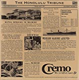 12'' x 12'' Brown Food-Safe Hawaii Newsprint Liner, by GET 4-TH1700 (1000 Pieces per case)