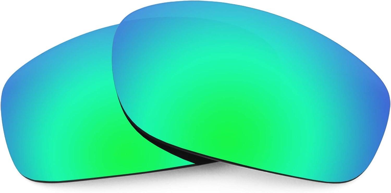 Revant Verres de Rechange pour Oakley Taper - Compatibles avec les Lunettes de Soleil Oakley Taper Vert Émeraude Mirrorshield - Polarisés