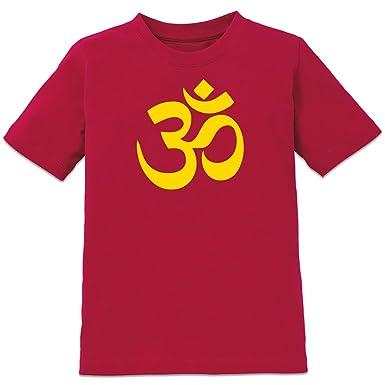 Aum Om Hinduism Symbol Kids T Shirt By Shirtcity Amazon
