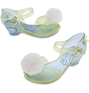 66659223d1a Disney Store Deluxe Tinkerbell Light Up Shoes Toddler Size 7   8 Tinker Bell