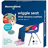 """Wiggle Seat Little Sensory Cushion 10.75"""" - for Kids Ages 3-7 (Small, Silver)"""