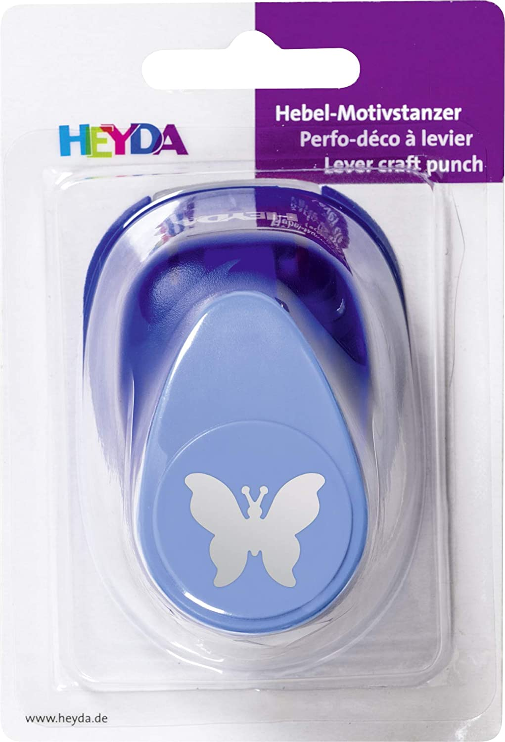 Heyda 203687545 Perforatrice Motif papillons Taille L env 2,5 cm