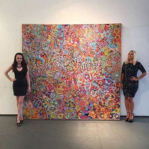 - CHRIS RIGGS Original abstract fine art painting 96