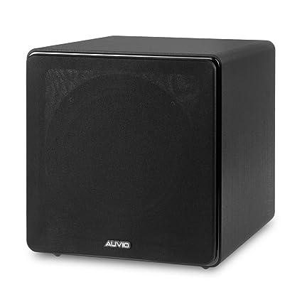 Amazon Com Auvio Indoor Outdoor Speakers Black 100w Home