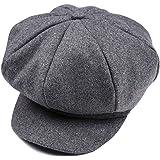 Chaud Hiver Dome Chapeau Beret Cap en Laine pour Bébé Garçon Enfant Gris bc715e2d0bd