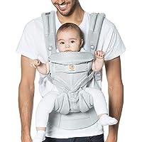 Ergobaby Omni 360 Canguro para bebé de malla transpirable y diseño ergonómico, carga a tu bebé en todas las posiciones, malla (Cool Air Mesh)
