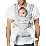 Ergobaby Omni 360 All-Position Baby Carrier for Newborn to Toddler with Lumbar Support and Cool Air Mesh (7-45 Pounds), Pearl