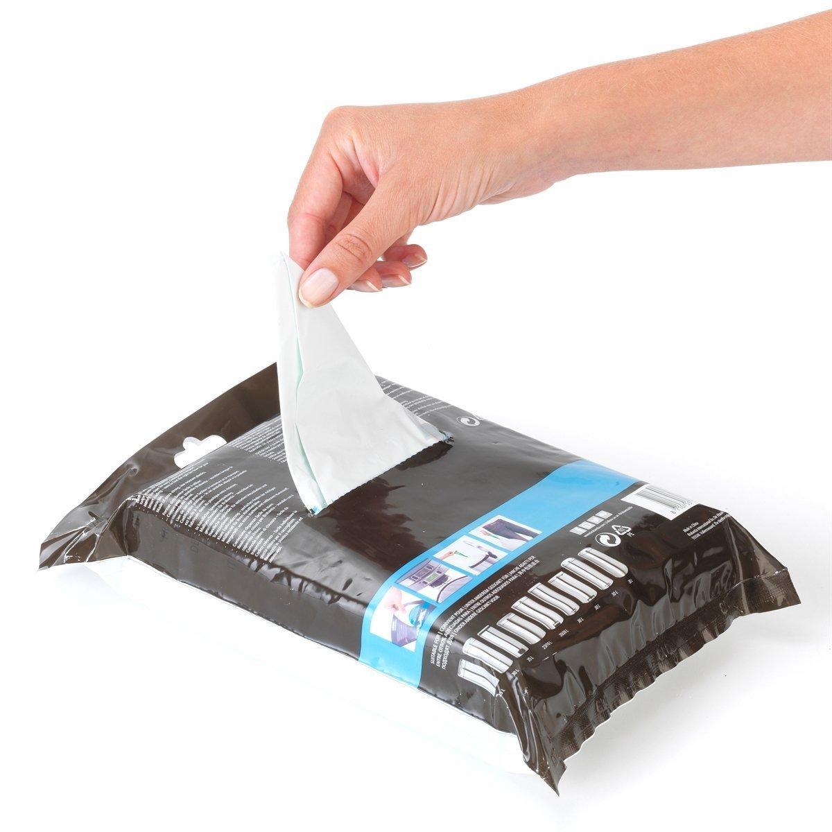 Brabantia dispensador de Bolsas de Basura del Paquete 30 L (g) 40 Unidades, 2 Pack: Amazon.es: Hogar