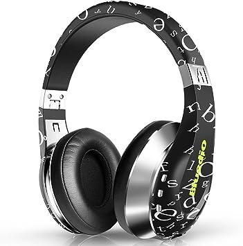 Amazon Com Bluedio A Air Stylish Wireless Bluetooth Headphones With Mic Black Home Audio Theater