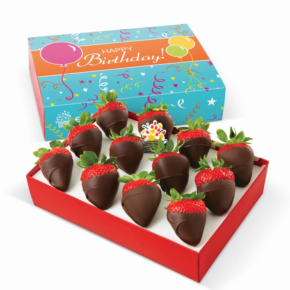 Edible Arrangements Happy Birthday Chocolate Covered Strawberries