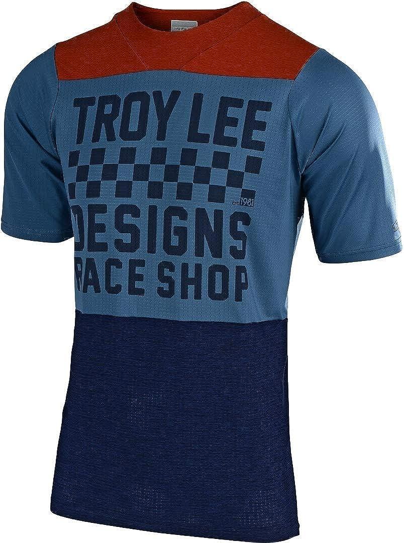 2017 Troy Lee Designs Skyline Air Jersey L Mens Sram Tld Racing White Short-Sleeve