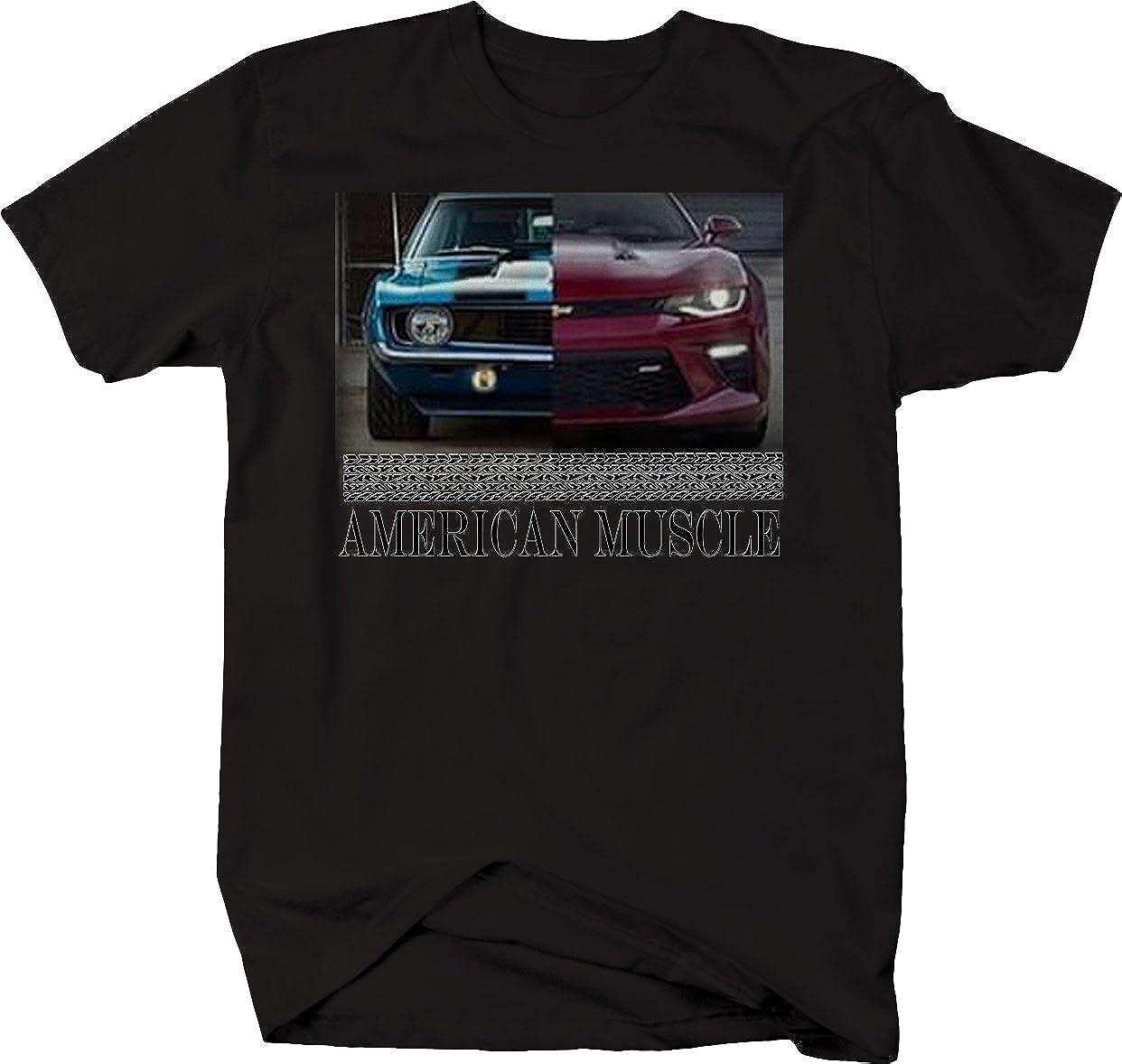 American Muscle Chevy Camaro SS Modern /& Classic Hotrod Tshirt