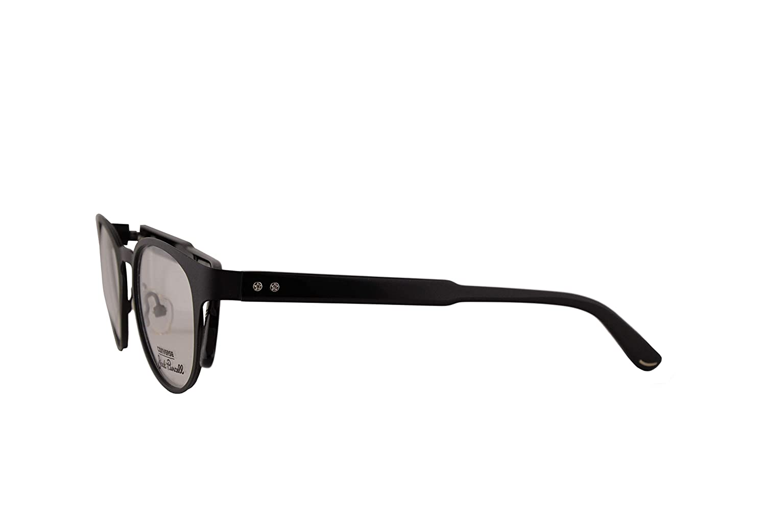 Converse All Star P009 Jack Purcell Eyeglasses 48-19-145 Matte Black w//Demo Clear Lens P 009