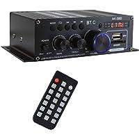Generic AK380 400W 400W Amplificador de Potência de Áudio 2.0 CH Receptor Amplificador de Som Bass & Treble Controle 2…