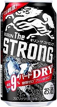 【2018年新登場】キリン・ザ・ストロング ハードドライ 350ml×24本