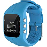KOBWA Polar A300Smart Watch, Cinturino di Ricambio in Silicone Watch Band Sport Cinghia per Polar A300Fitness Watch
