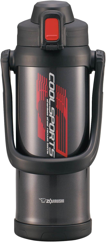 象印 ( ZOJIRUSHI ) 水筒 直飲み ステンレスボトル スポーツタイプ 保冷専用 2.06L メタリックブラック SD-BA20-BJ