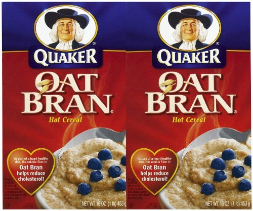 Quaker Oat Bran Hot Cereal - 16 oz - 2 ()