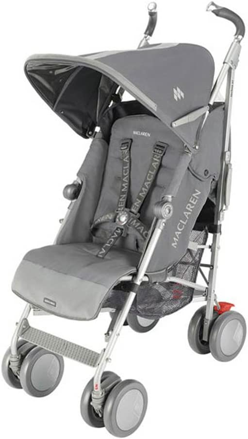 Maclaren Techno XT - Silla de paseo, color gris: Amazon.es: Bebé