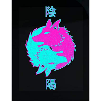 Halloween Stickers Aesthetic.Amazon Com Kyrola Ltd Retro Aesthetic Vaporwave Shirt Fox